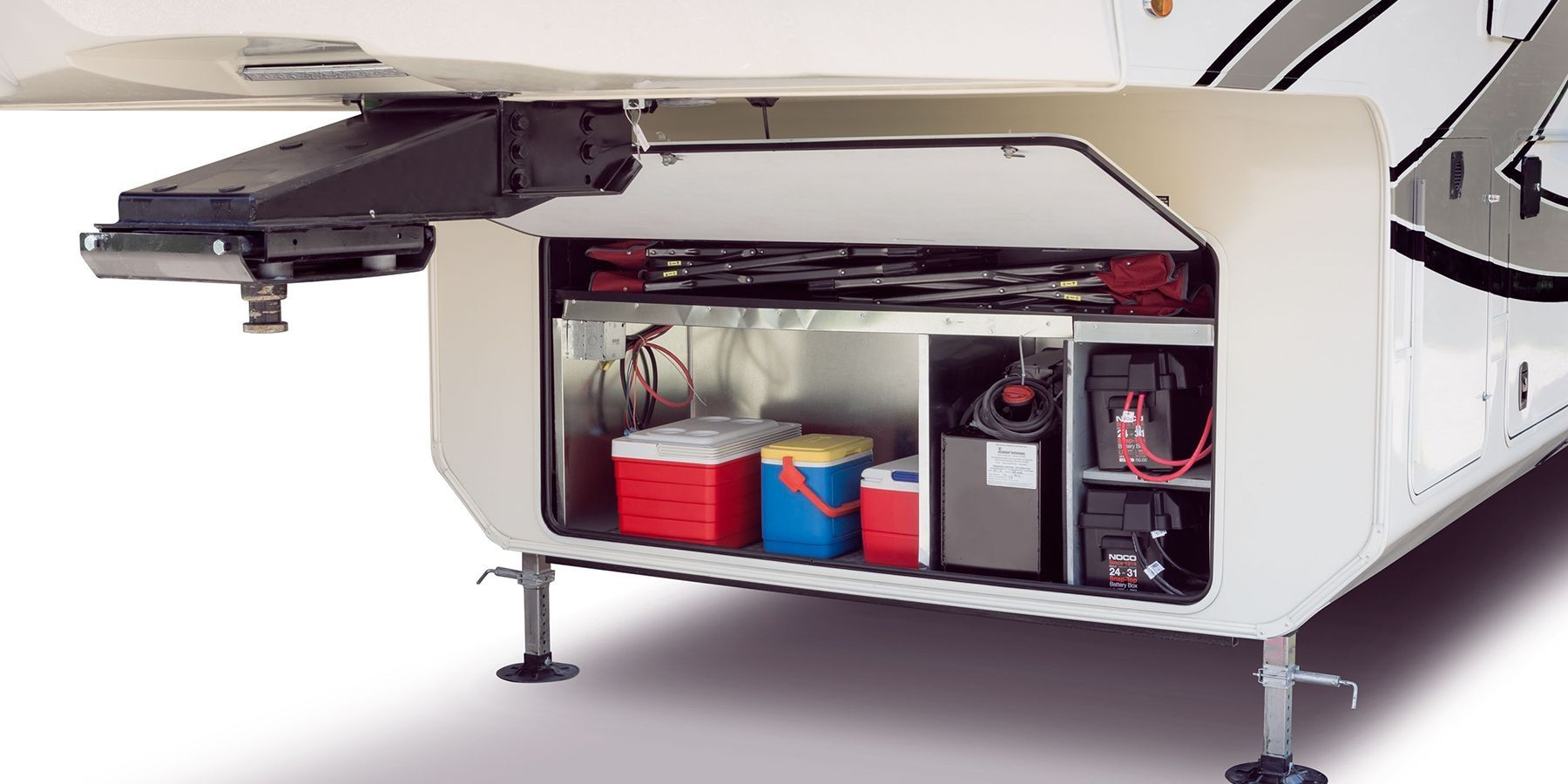 fifth wheel rv basement storage ideas   camping ideas   fifth wheel