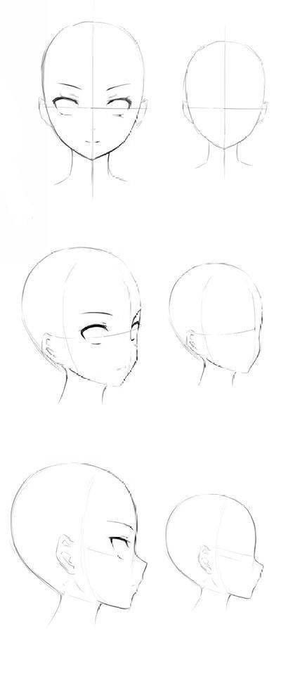 Ych Sides Styles Gesicht Face Drawing Pencil Drawing Manga Augen Zeichnen Manga Zeichnen Manga Zeichnen Fur Anfanger