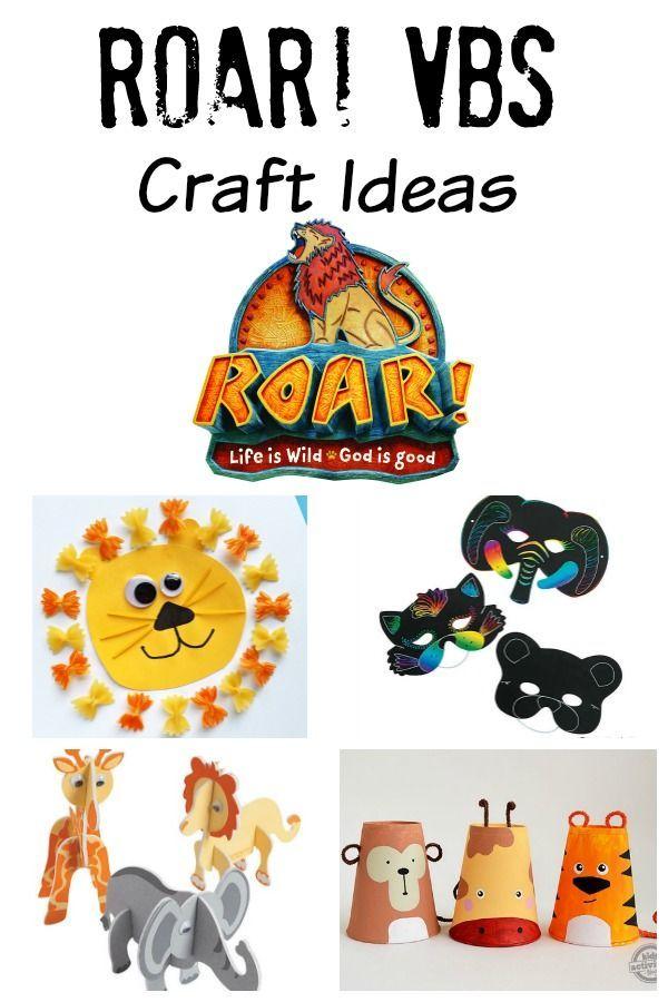 Roar Vbs Craft Ideas Vacation Bible School Pinterest Vbs