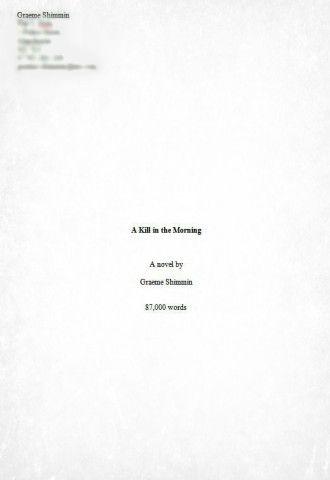 Akitm Manuscript Format Front Cover  Art