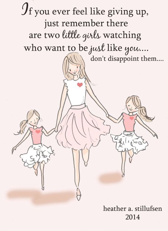 Mom and Daughter Art - Art for Moms - Inspirational Art for ...