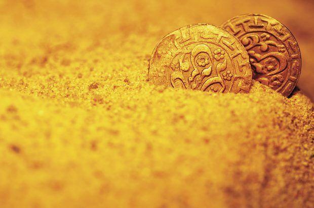 Tipos de solo que contêm ouro