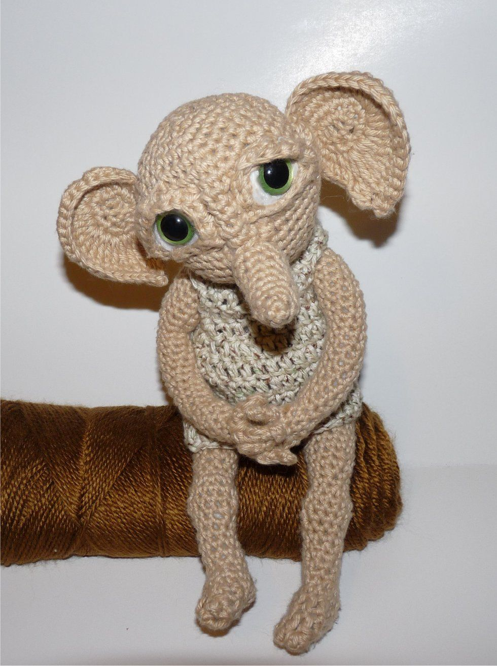 Elf Crochet PATTERN Hobby the House Elf - Doll NOT Included ...