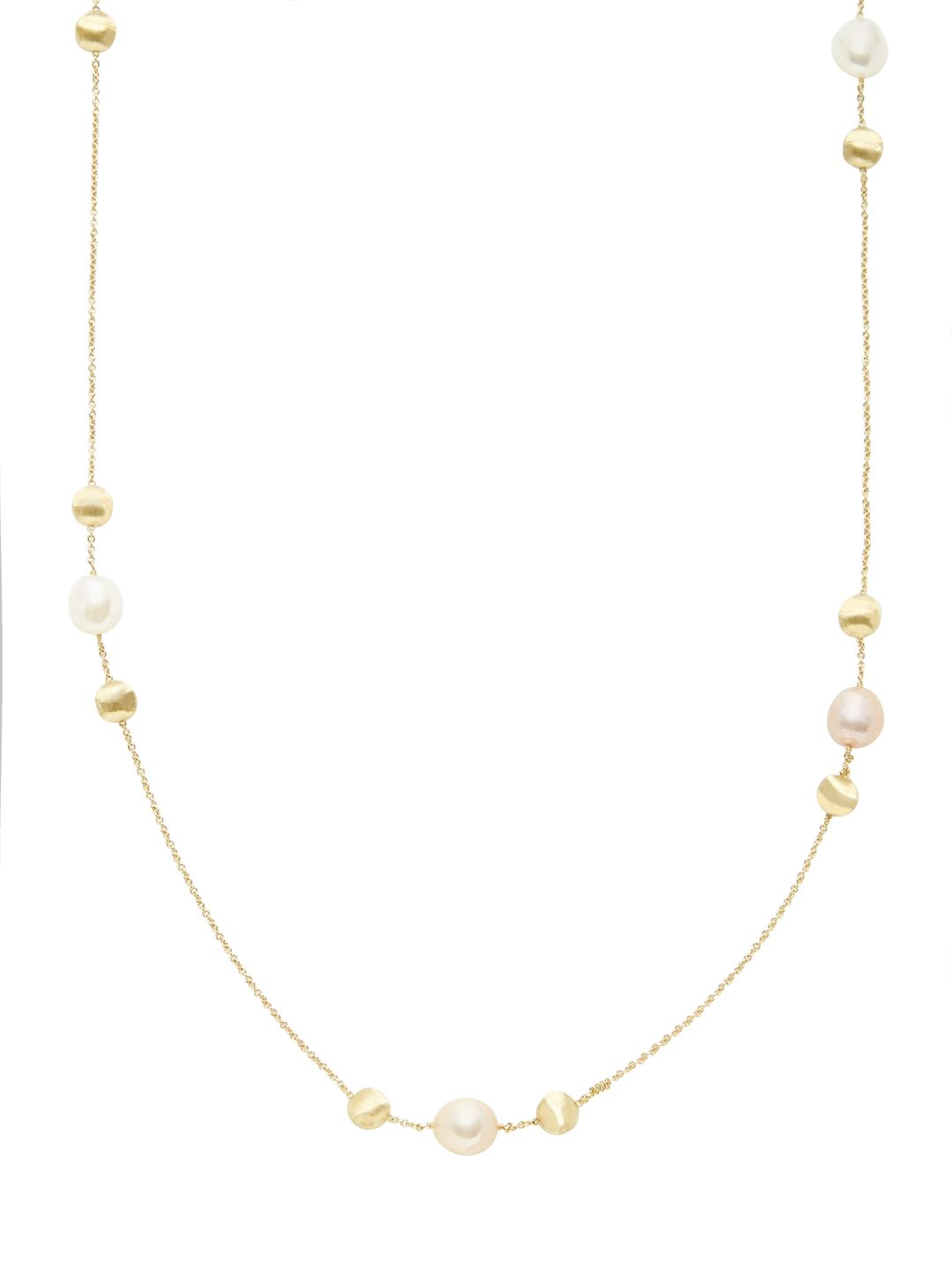 Africa Freshwater Pearl Station Necklace