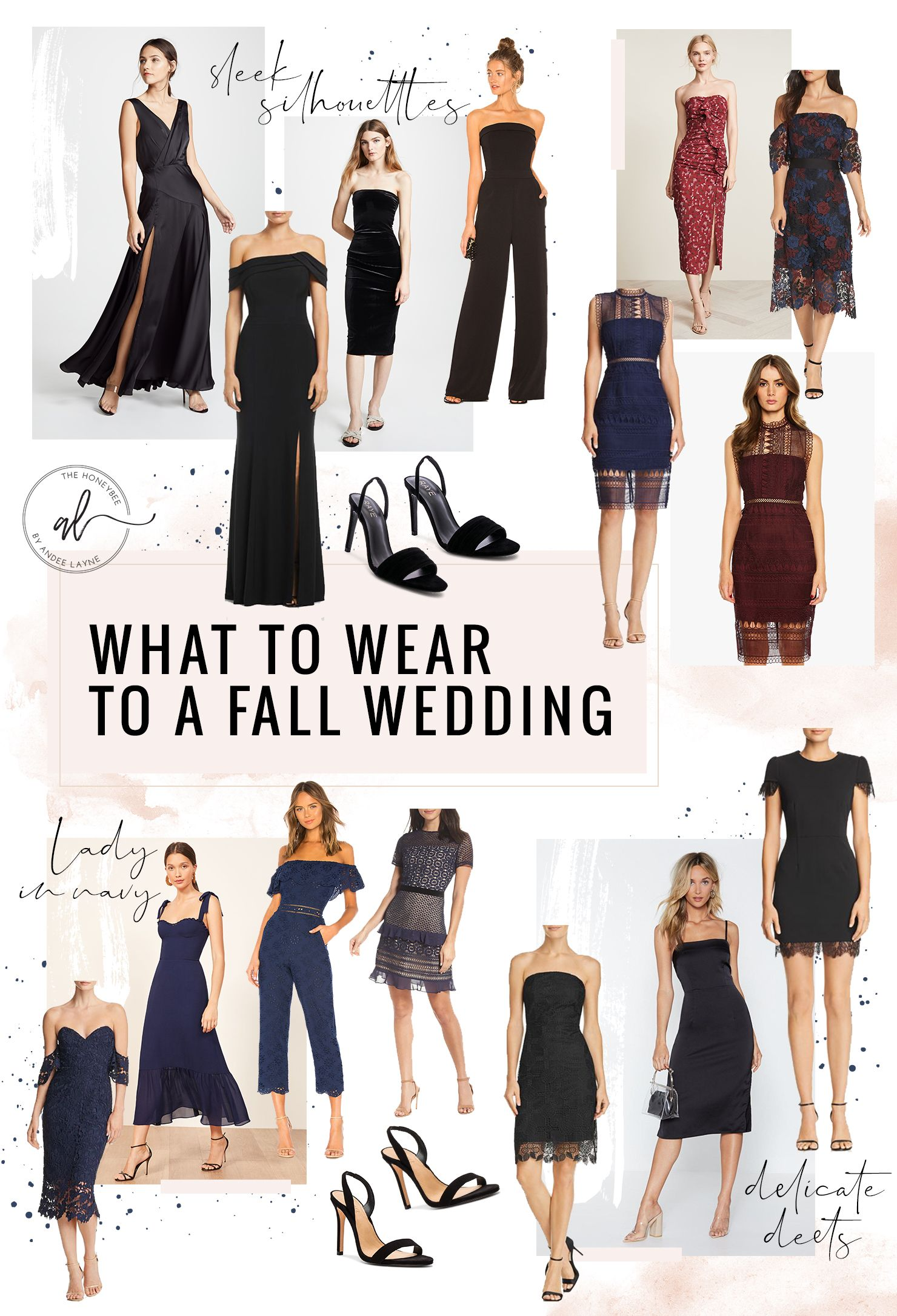 What To Wear To A Fall Wedding Andee Layne Casual Wedding Attire Cocktail Wedding Attire Wedding Attire Guest