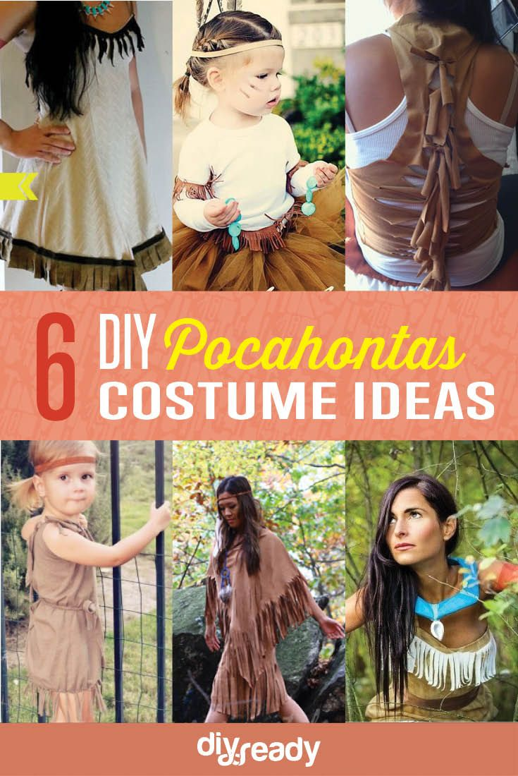 Easy no sew diy pocahontas or native american indian costume full easy no sew diy pocahontas or native american indian costume full tutorial and pictures httptoppartyideaspocahontas costume pinterest solutioingenieria Image collections