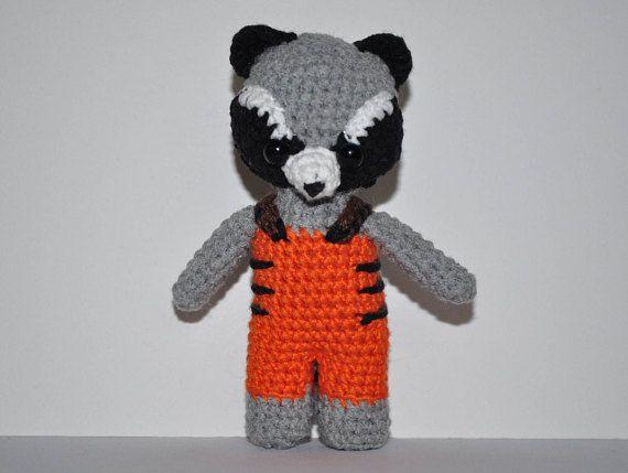 Amigurumi Patterns Groot : Pin by victoria on amigurumi rocket raccoon