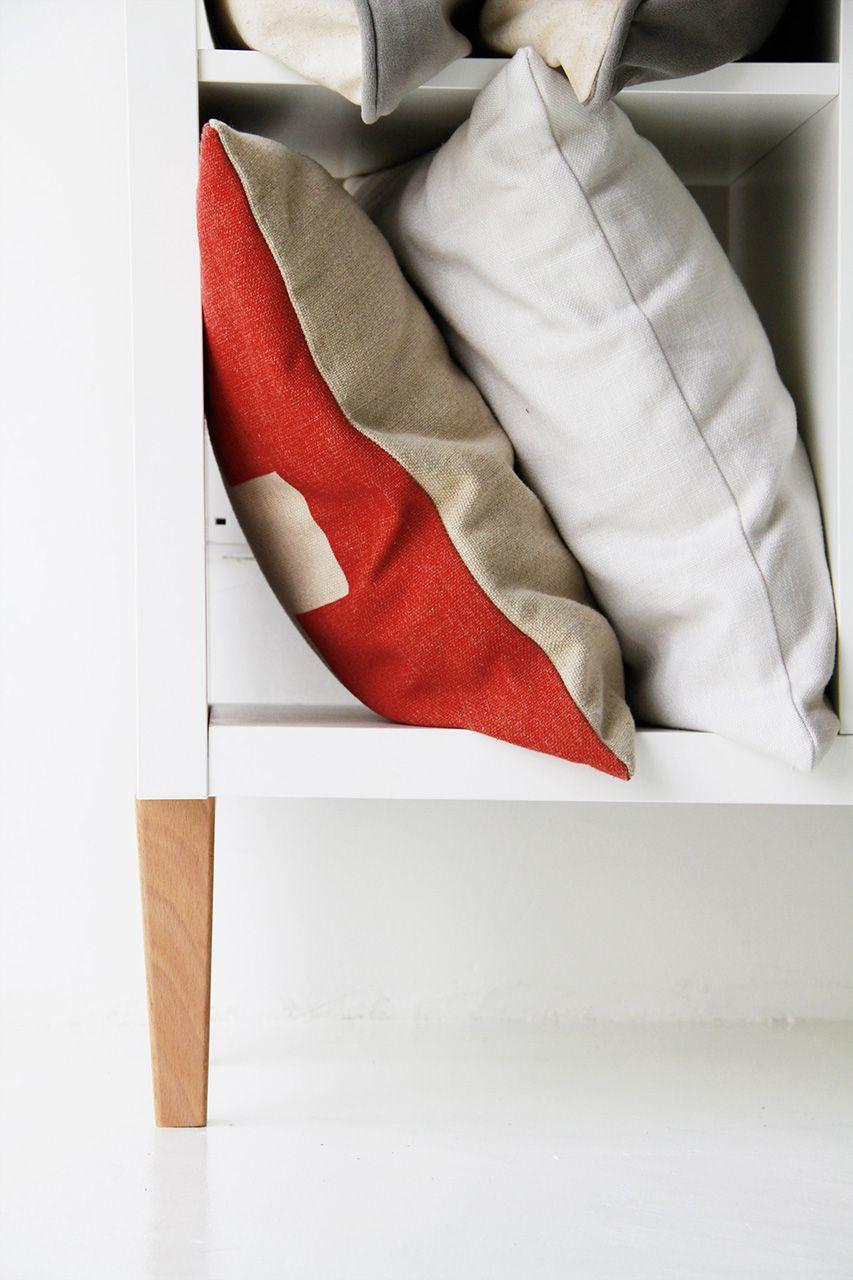 Hack The IKEA KALLAX   With Replacement IKEA Sofa Legs