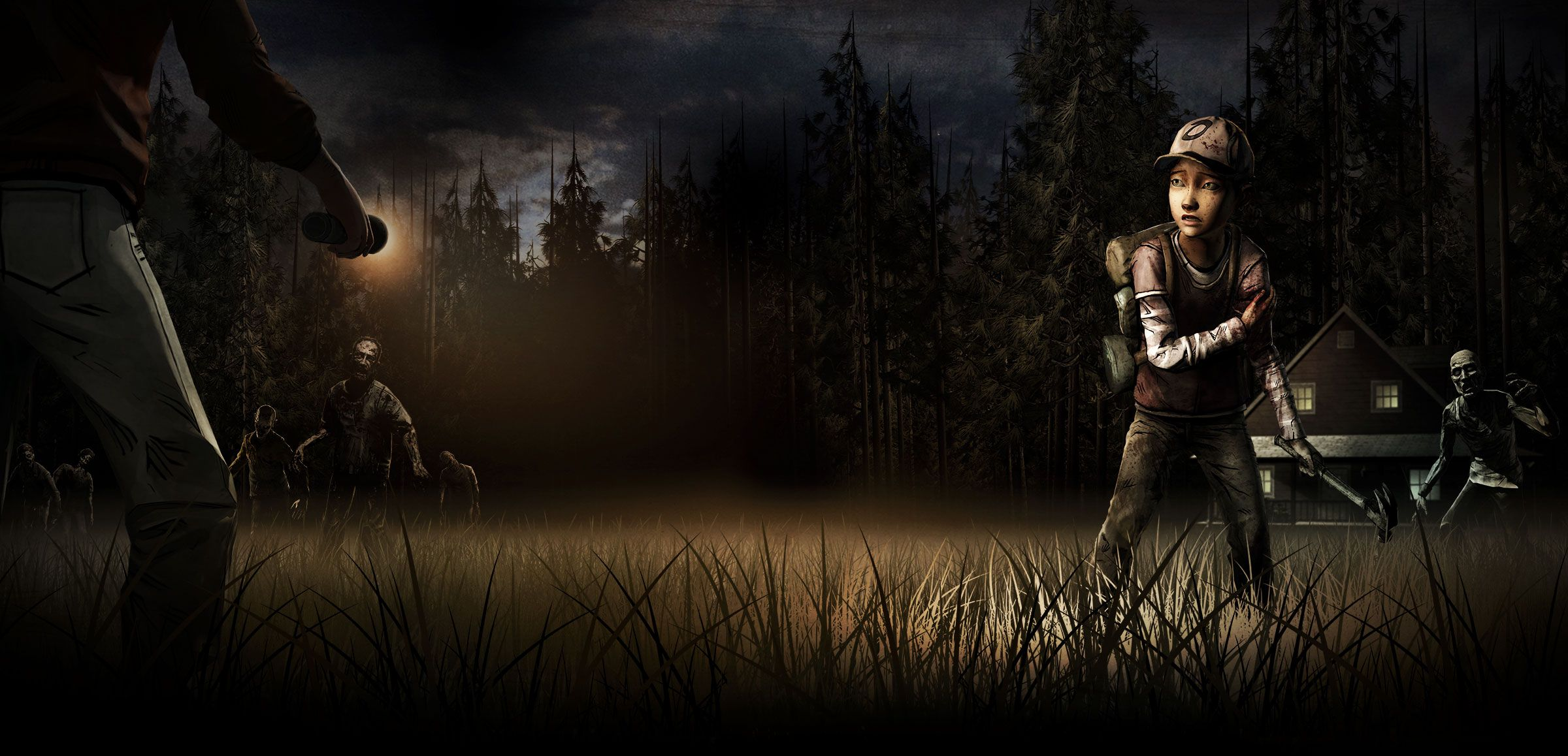 The Walking Dead Video Game Wallpaper The Walking Dead