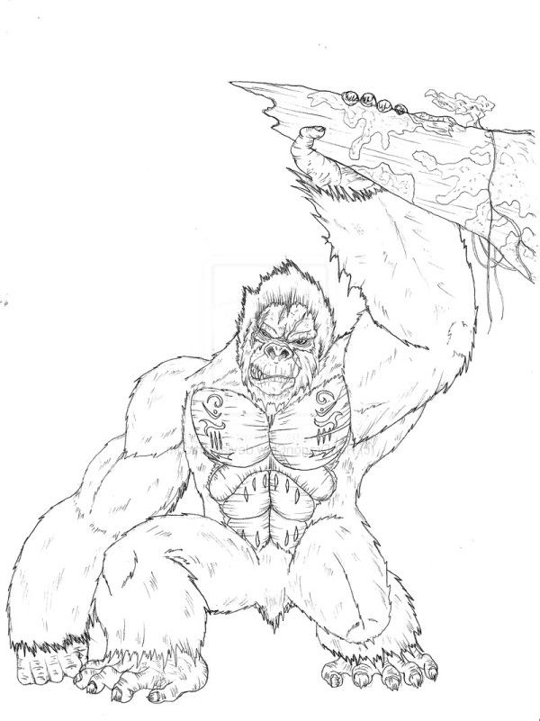 King Kong Coloring Pages King Kong Coloring Pages Online Coloring Or Painting For Kids Coloring Pages King Kong Coloring Pages Nature