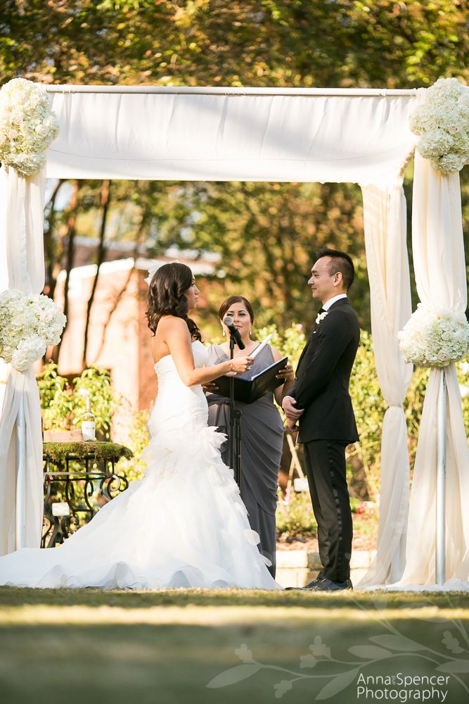 Atlanta Wedding Ceremony Reception Venue The Rose Garden at