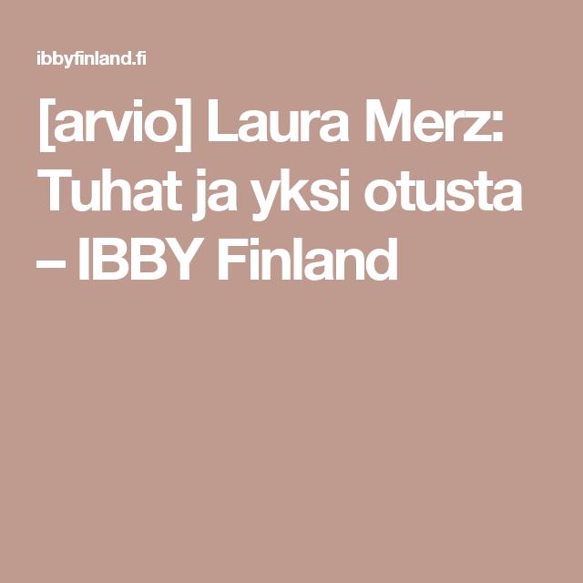 [arvio] Laura Merz: Tuhat ja yksi otusta – IBBY Finland