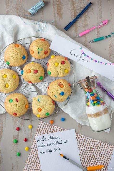 Cookies im Glas verschenken - Geschenkidee aus der Küche - küche zum verschenken