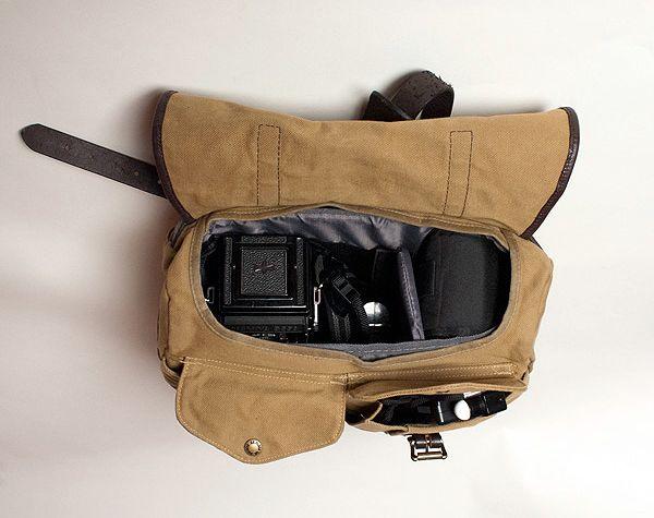 Filson Medium Field Bag As A Camera