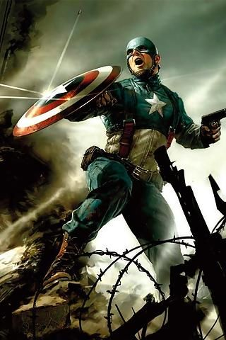 Captain America The First Avenger Mobile Wallpaper Downloads