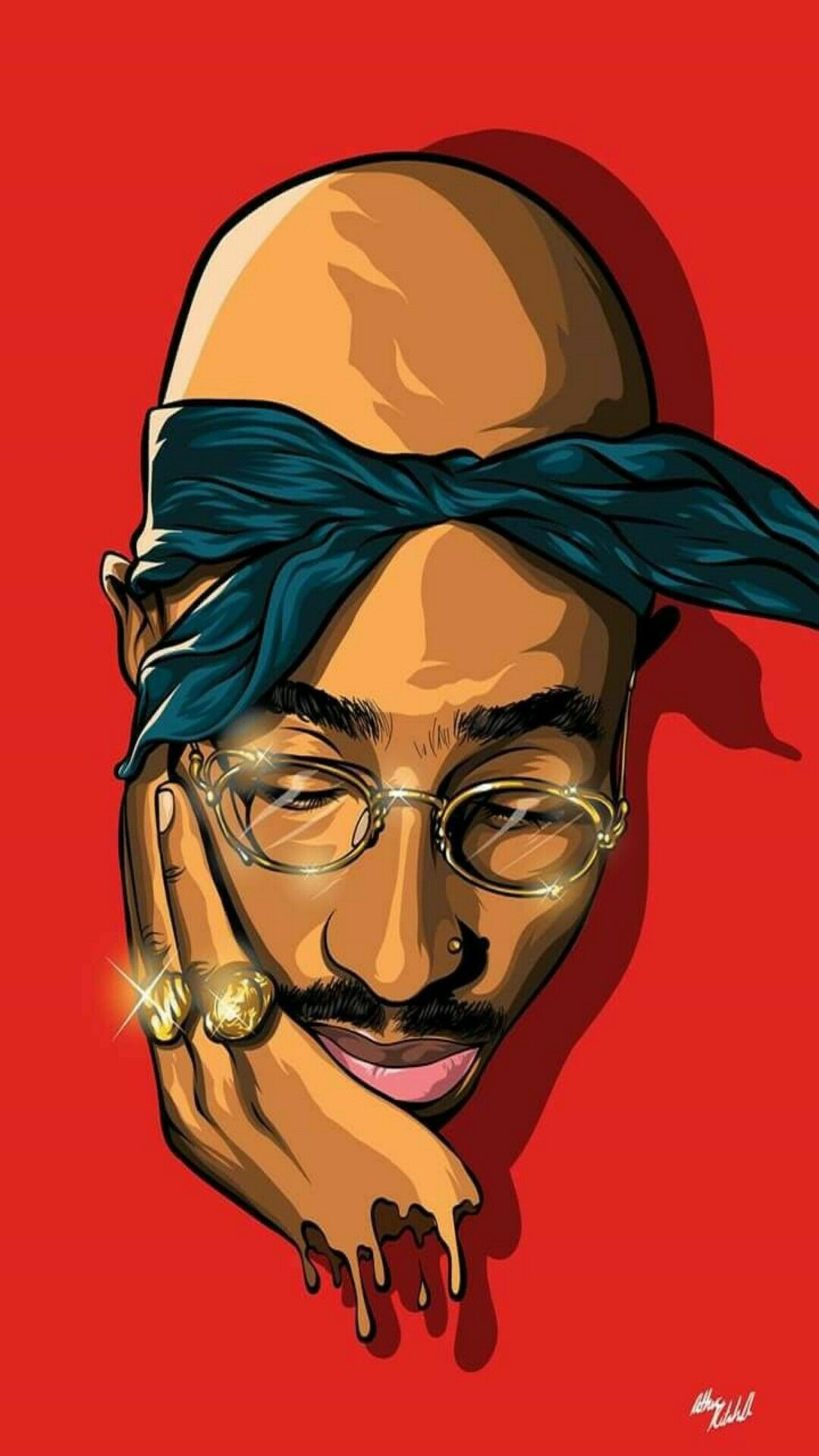 Pin By Hendie Purwiliarto On Phone Backgrounds Hipster 10 Tupac Art Black Art Pictures Hip Hop Art