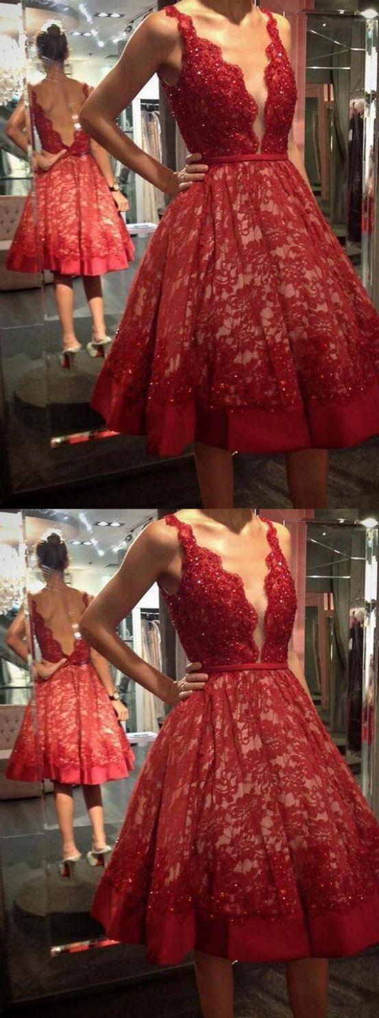 Knee length prom dresses red kneelength homecoming dresses knee