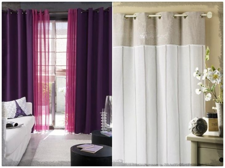 Fotos de cortinas para dormitorios modernos  cortinas