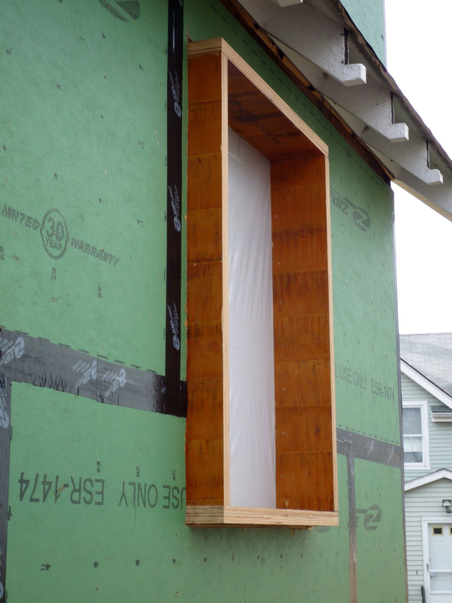 Exterior window frames - Window Frame Extension To Allow For Exterior Insulation