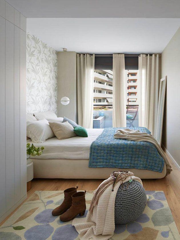 Decoraci n de recamaras 100 fotos e ideas para tener la for Recamaras modernas con closet