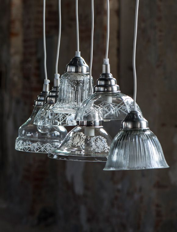 Ganz fein und zart die nostalgische h ngelampe mit ornament von ib laursen leuchten - Car mobel lampen ...