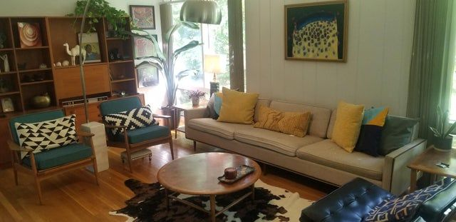 Still working on my vibe, I'm not someone to try and make it perfect just liveable - midcenturymodern