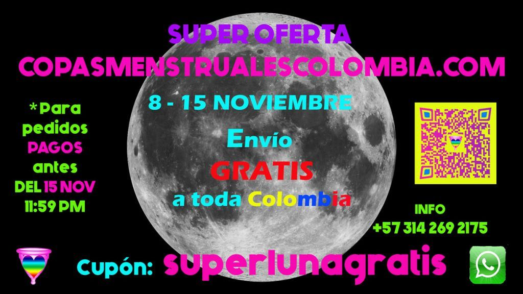 Oferta #CopaMenstrual Superluna noviembre