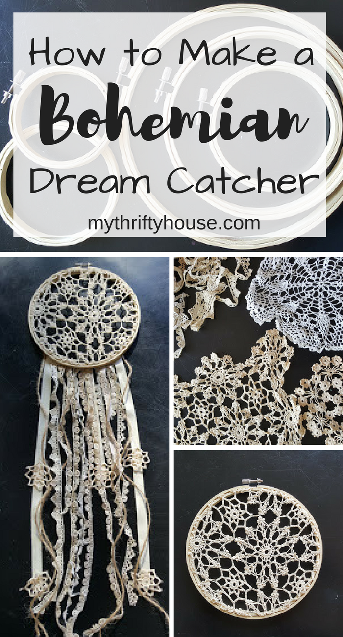 Photo of How to Make a Bohemian Dream Catcher – My Thrifty House