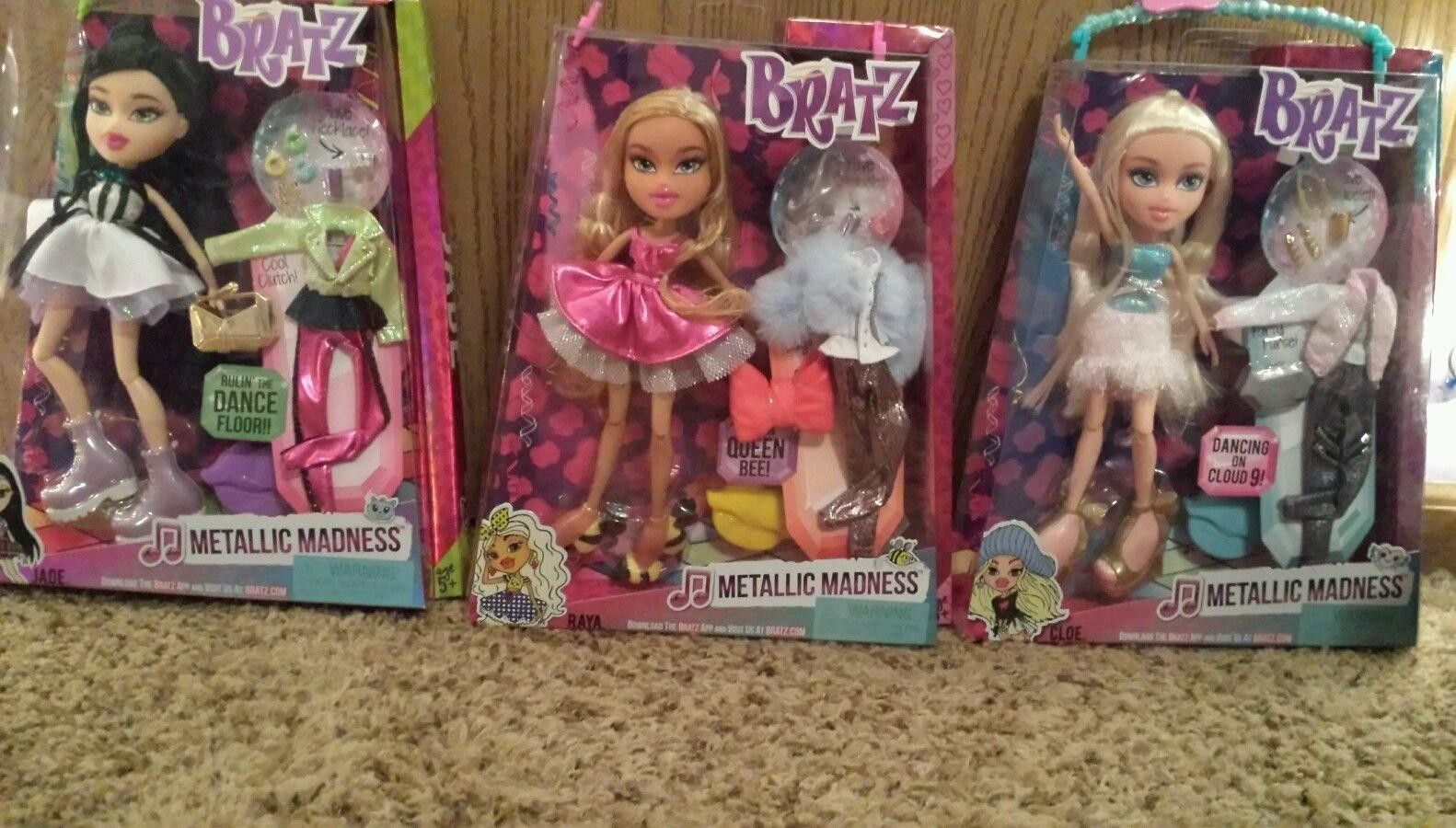 Bratz  Metallic Madness Raya Doll New In Box