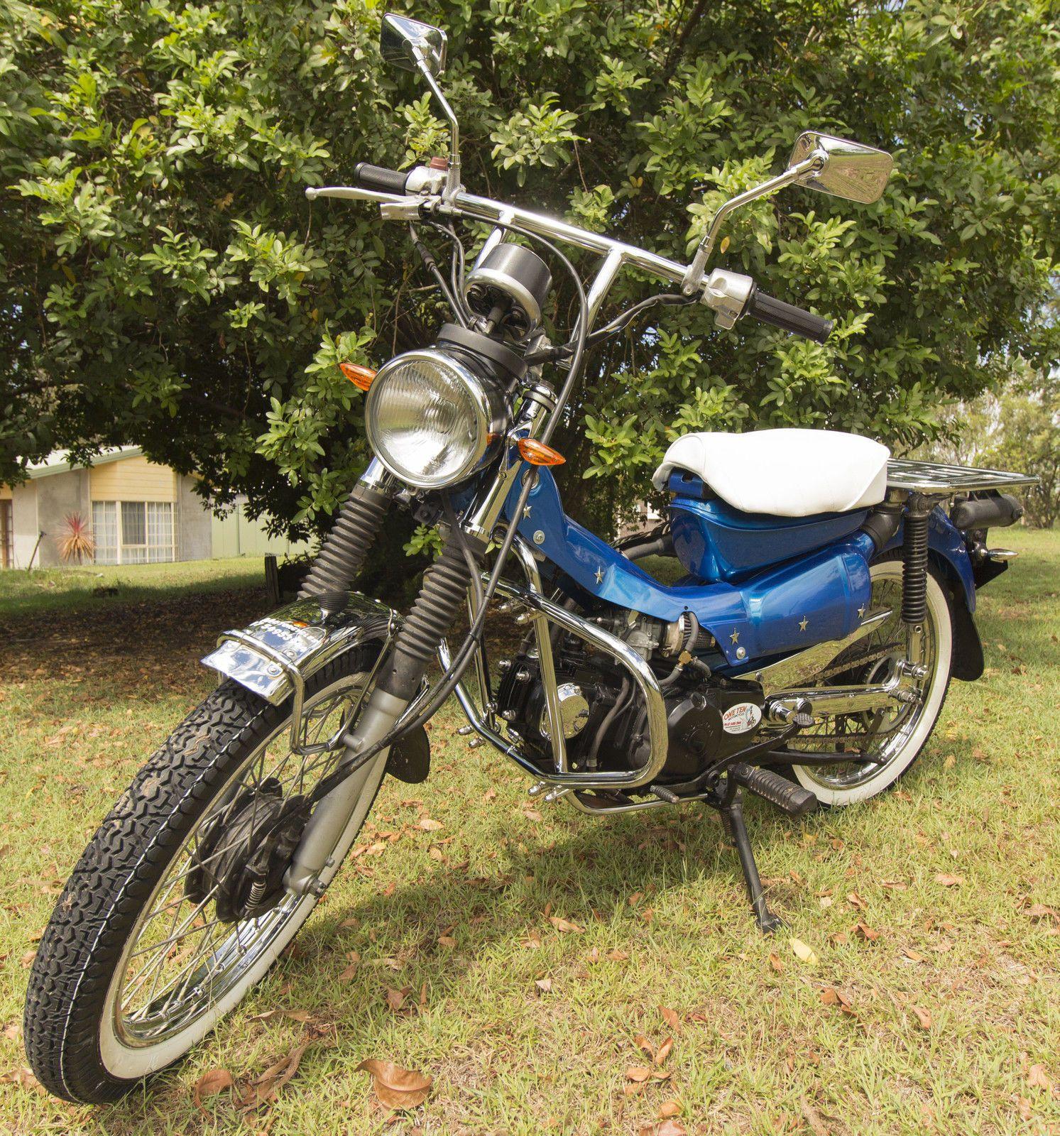 Custom built 1991 Honda 140cc CT110X Postie bike in Cars, Bikes ...