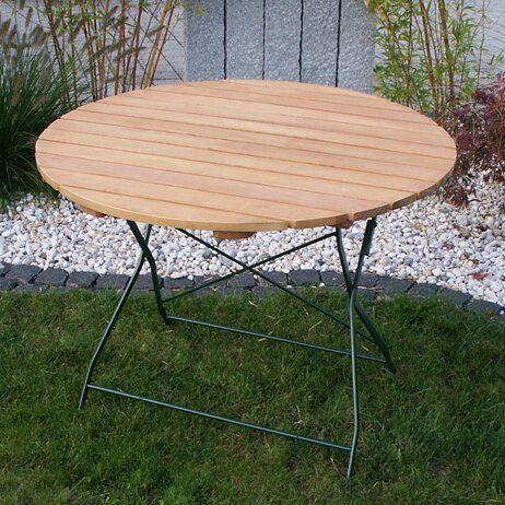 Klappbarer Bistrotisch Plum Garten Living Tischgrosse 100 X 100 Cm
