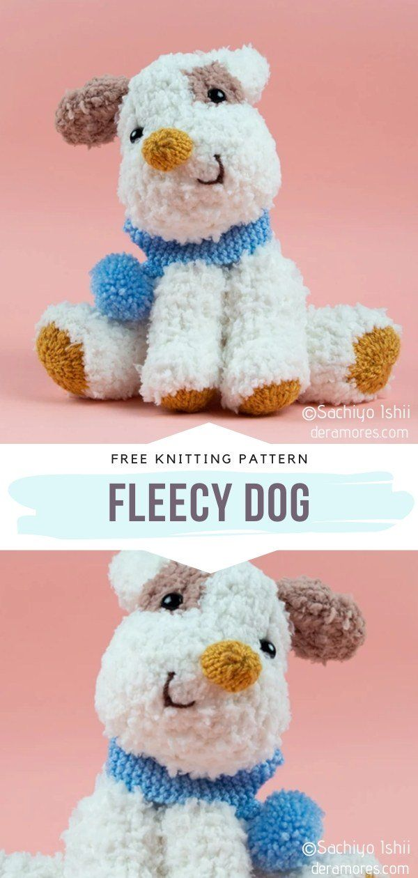 How to Knit Fleecy Dog