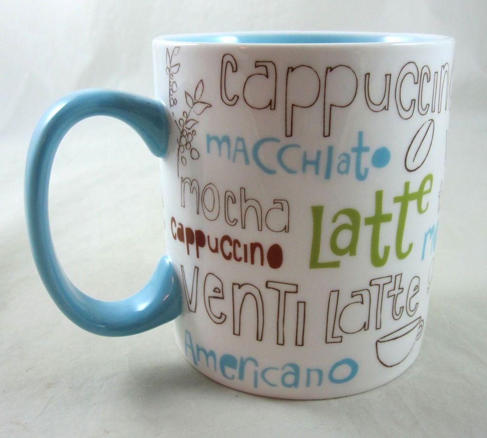 Starbucks Coffee Mug Cup French Mocha Latte Venti