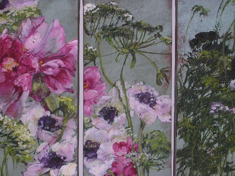 Juin 2006 009 Peinture Fleurs Peinture