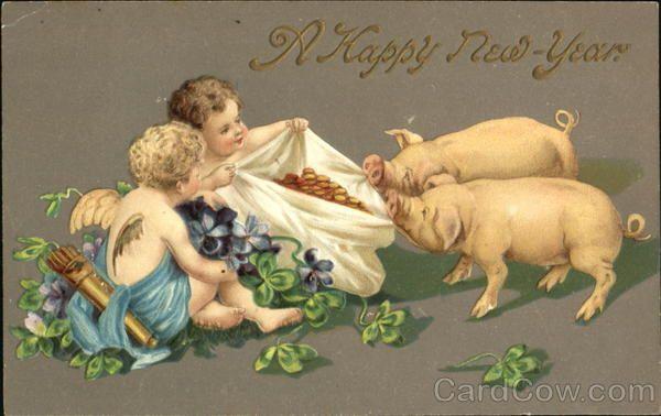 Эротическая новогодняя открытка — photo 9
