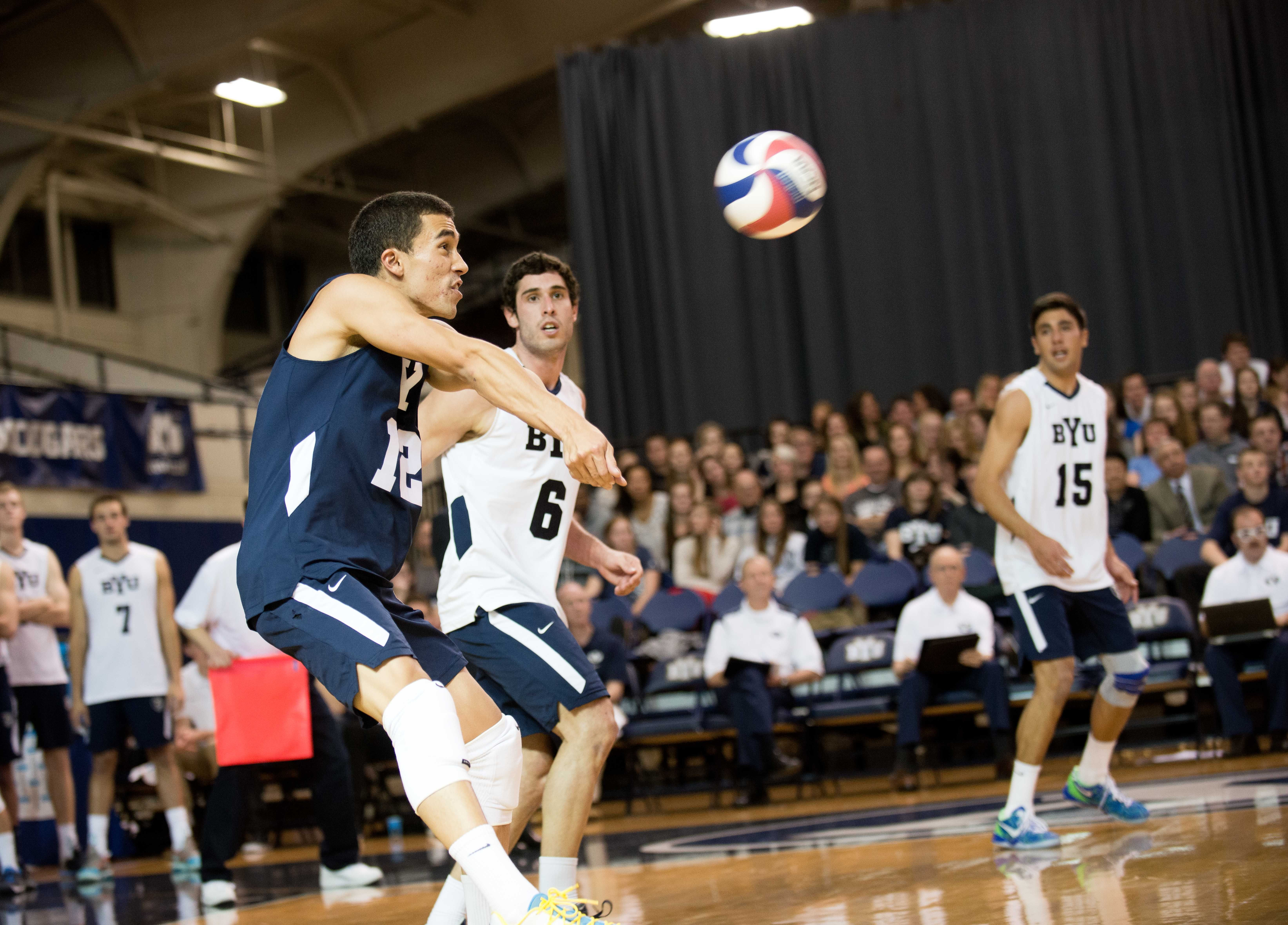 Men S Volleyball Won T Settle For Sixth Place In 2015 Byu Sports Volleyball Men