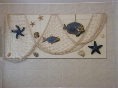 dco marine sur cadre pour ma salle de bain cration encadrement de flo33 n42 455 vue 6 549 fois - Cadre Salle De Bain