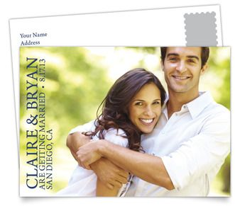Save the Date Postcards - Timeless Photo