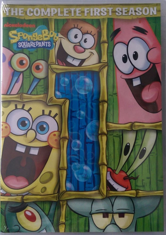 Spongebob Squarepants The Complete 1st Season This