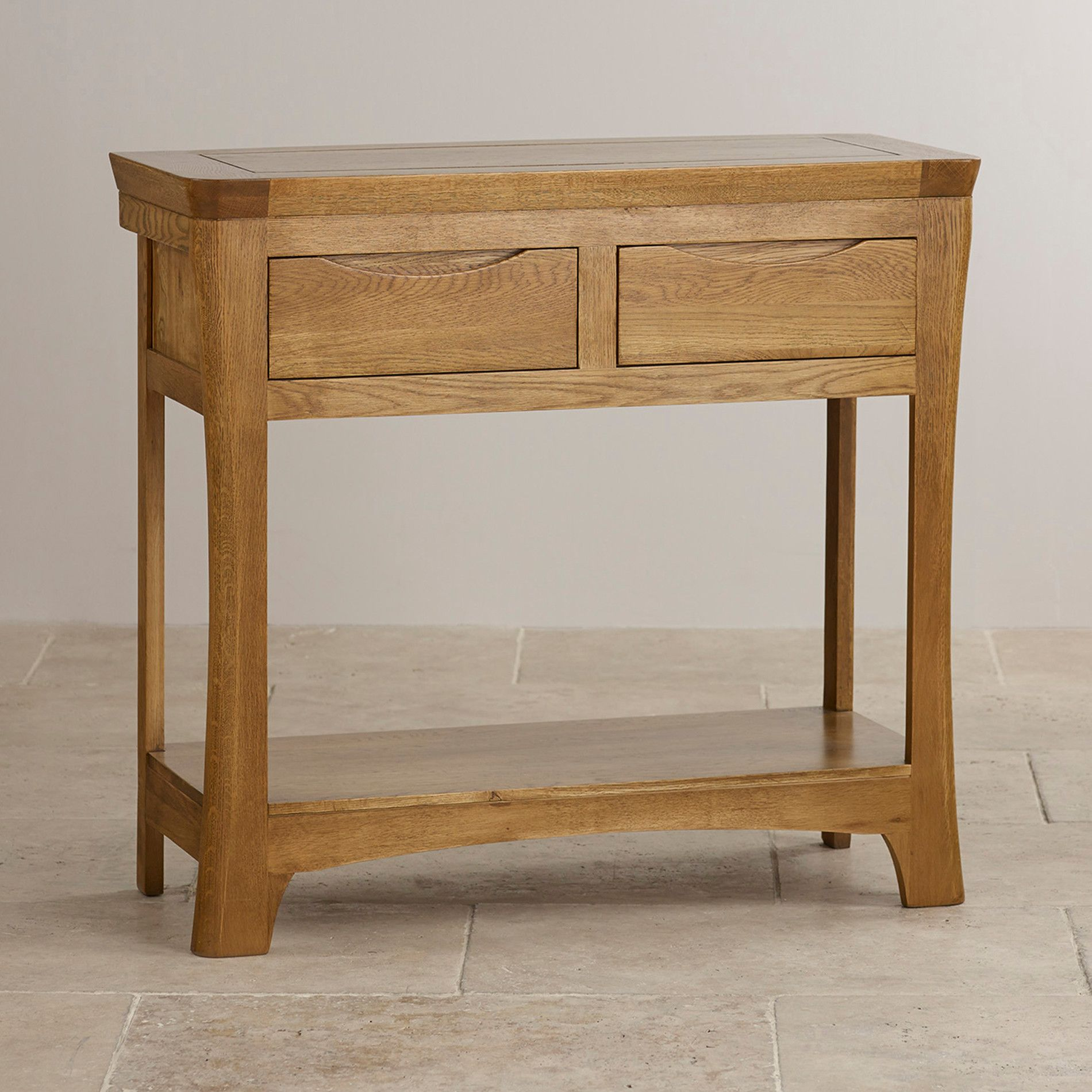 Oak Furniture Land, Hardwood Furniture, Bedroom Furniture, Oak Land, Rustic Console  Tables