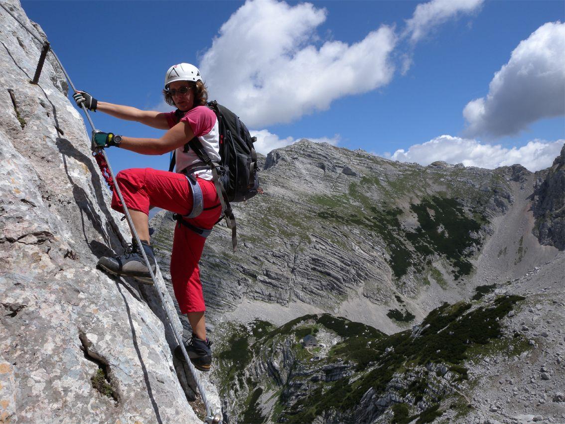 Klettersteig Oberösterreich : Klettersteig: schermberg klettersteig tassilo in Österreich