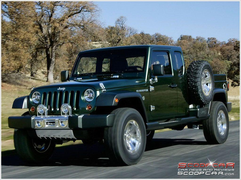 Jeep gladiator pickup truck market in 2015