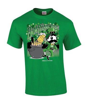 ad642fcd Natty Boh Bohtimore St. Pattys Day T-Shirt | Natty Boh T-Shirts and ...