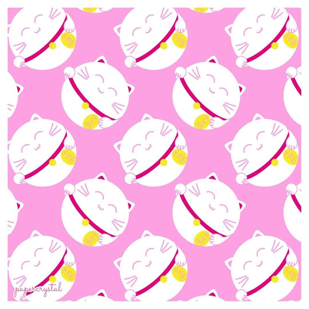 Crystal Pattern Printable Origami Paper - Paper Kawaii Shop | 1080x1080