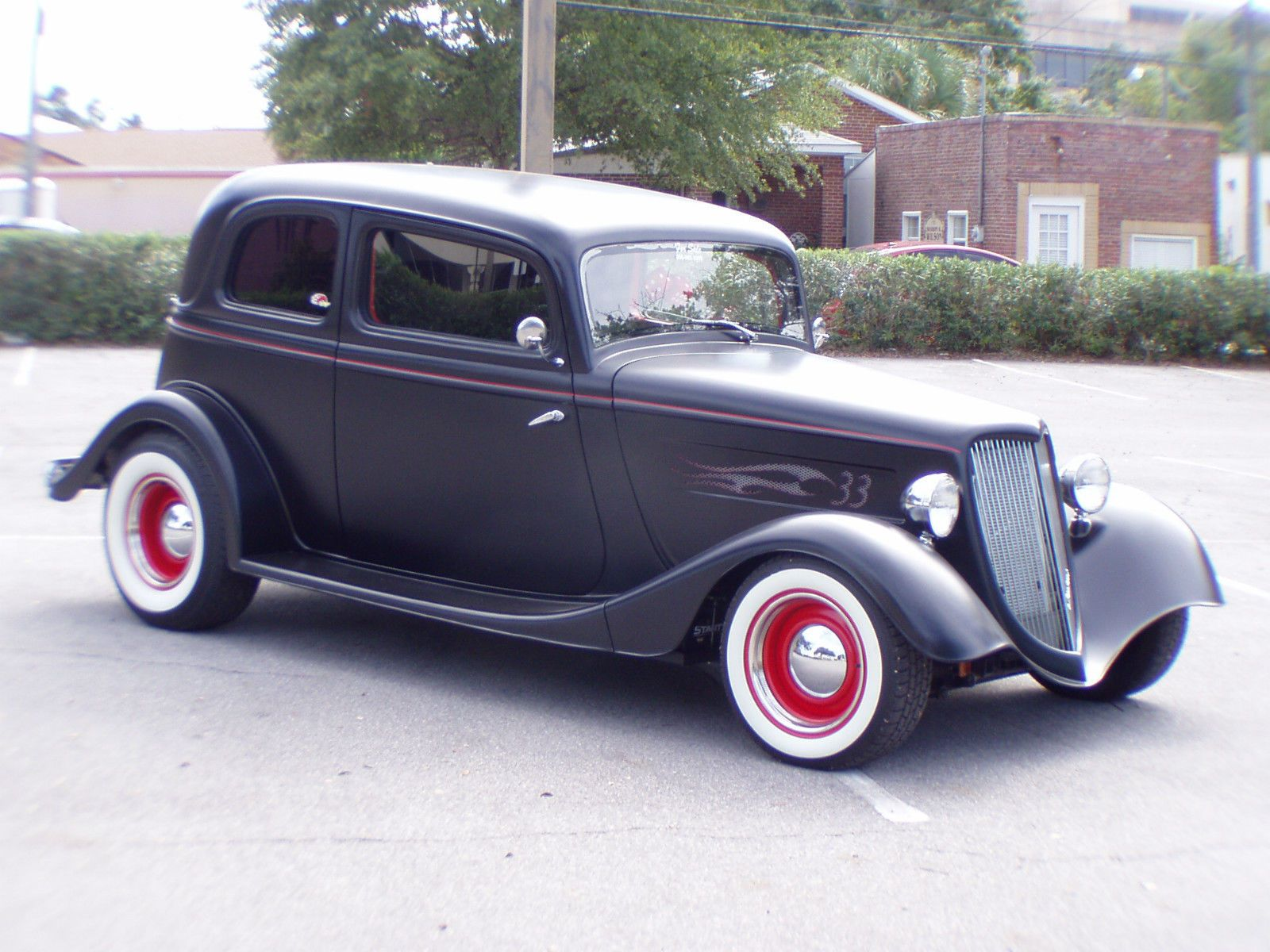 1933 Ford Vicky Street Rod | American Hot Rods | Pinterest | Ford