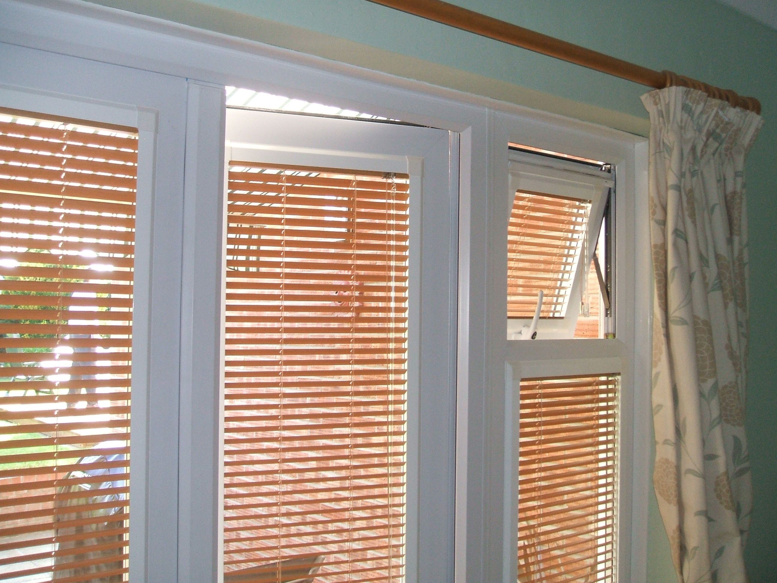 Perfect fit blinds provide privacy and dimout a