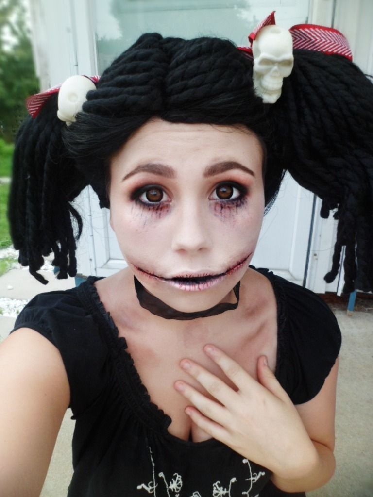 Rag Doll Halloween Spfx Makeup Look Halloween Makeup Rag Doll Makeup Halloween Doll