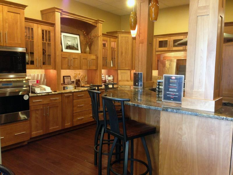 Traditional gorgeous wood kitchen designs and cabinets at JM ...
