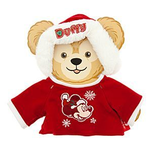 Duffy the Disney Bear Santa Suit Costume - Holiday - 17'' | Disney StoreDuffy the Disney Bear Santa Suit Costume - Holiday - 17'' - Your 17'' Duffy the Disney Bear (sold separately) will celebrate a season of smiles in this festive outfit featuring embroidered Santa Mickey shirt plus a plush Santa cap with furry trim!