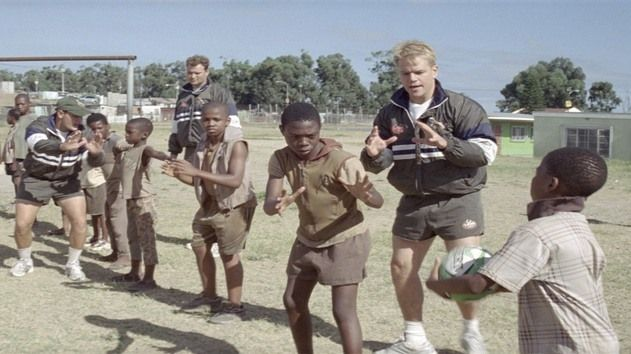 http://b.myplex.tv/InvictusTheFilm     Invictus from the year 2009 featuring Matt Damon the rugby sportsman and Morgan Freeman as Nelson Mandela